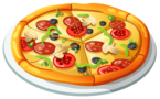 Hungry For Hits free traffic exchange splashpage: Pizza in the bonus bites game